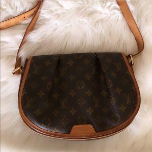 Louis Vuitton Menilmontant PM Monogram Strap Bag